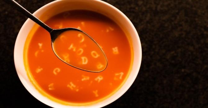Alphabet soup? image