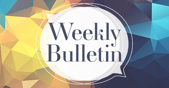 Bulletin for January 10, 2021 image