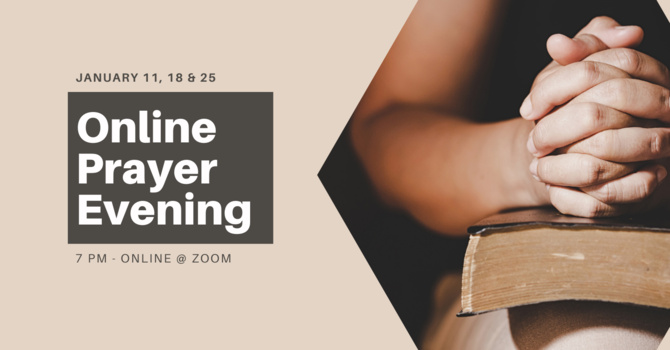 Online Prayer Evening