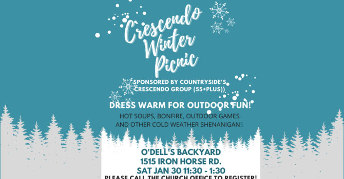 Crescendo Winter Picnic