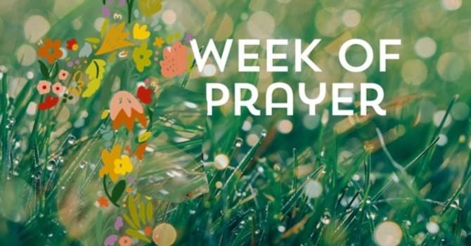 Prayer Week  - January 10 to 16