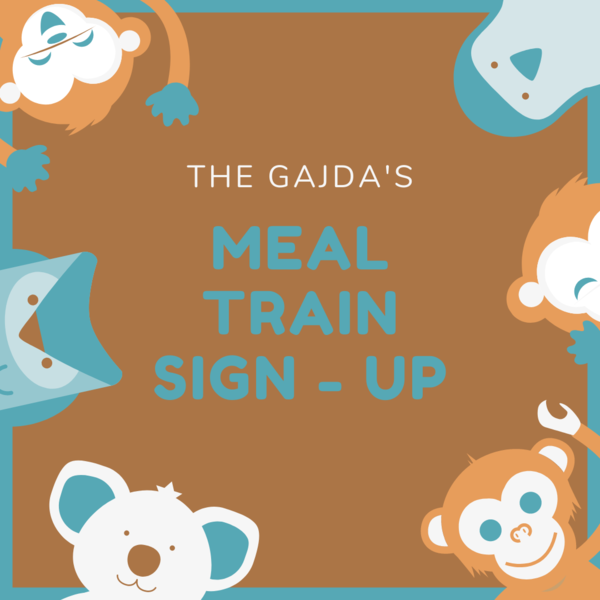 The Gajda Family Meal Train Sign-up