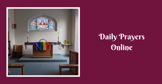 Daily Prayers Online - Monday