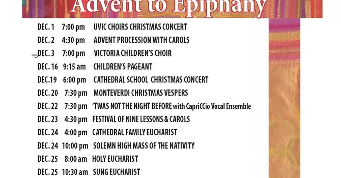 Advent at the Cathedral image