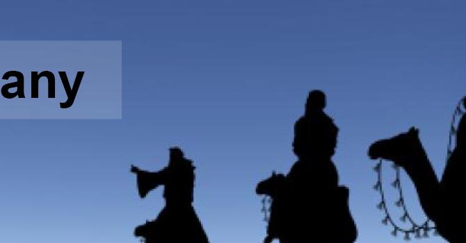 Reflection: Jan. 10 Epiphany Sunday