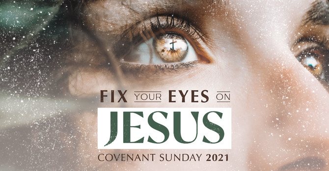 Eyes on Jesus..until the end