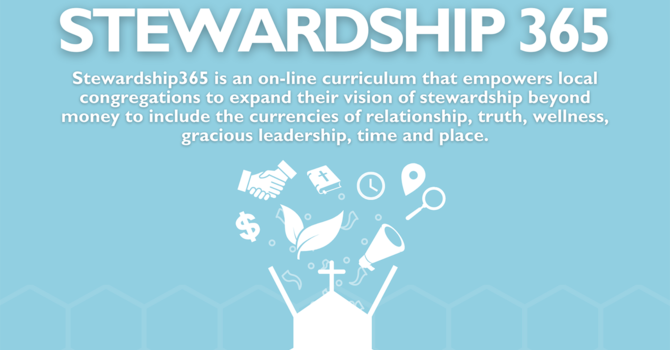 Stewardship 365 For the Diocese of New Westminster image