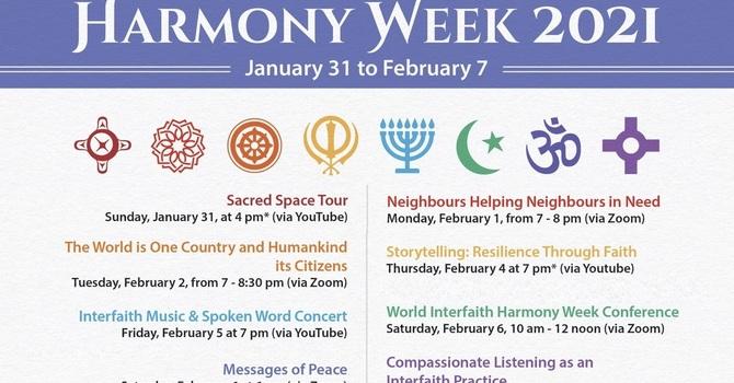 UN World Interfaith Harmony Week