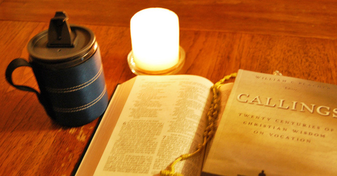 Christian Vocation in a Travel Mug