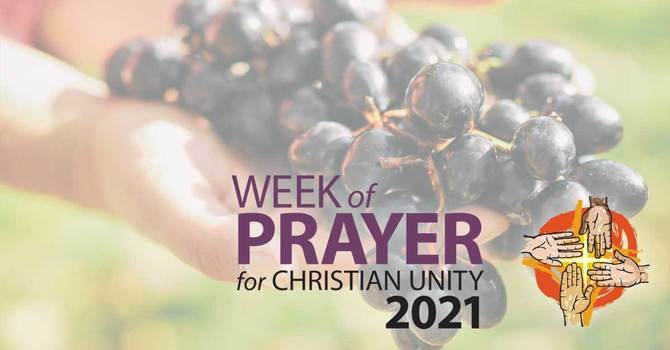 Week of Prayer for Christian Unity 2021 January 18-25 image