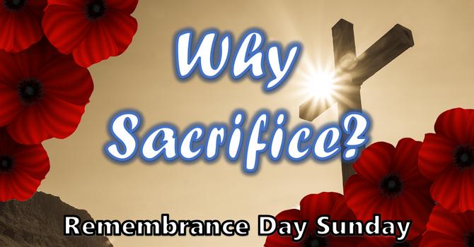 Why Sacrifice?