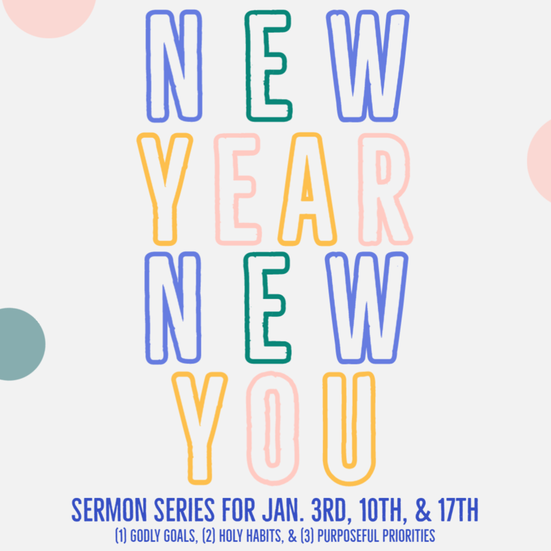 """2 - """"NEW YEAR NEW YOU: Habits"""""""