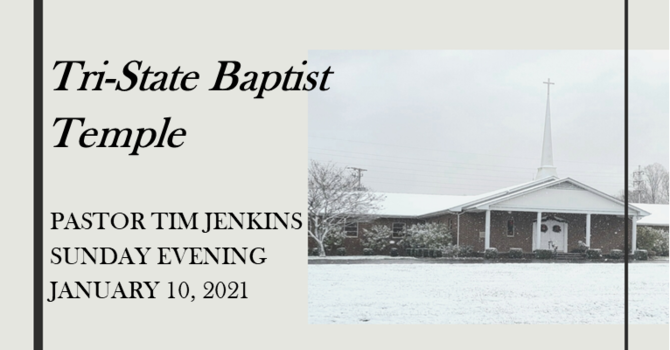 Sunday Evening Service - January 10