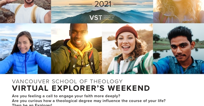 Vancouver School of Theology Virtual Explorers Weekend