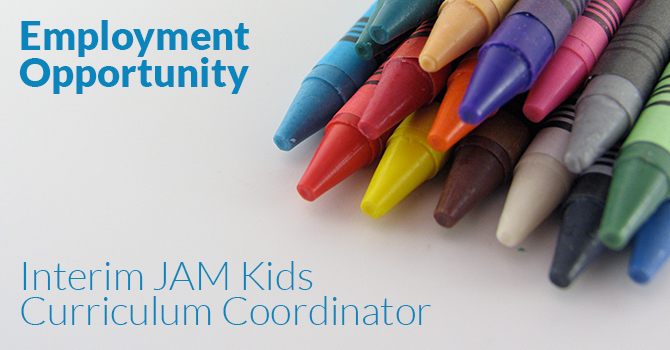 JAM Kids Employment Opportunity image