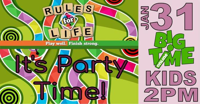 B!GTiME RULES for LIFE ONLiNE PARTY!