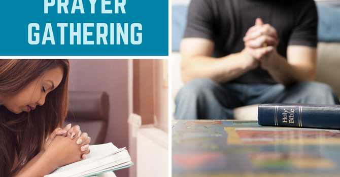 Invitation to Join in Prayer image