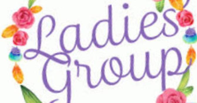 Ladies' Group On Line Meeting