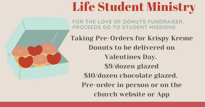 Life Student Ministries Krispy Kreme Fundraiser