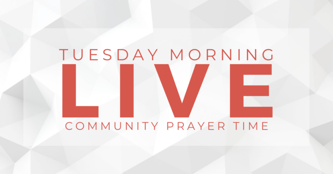 Tuesday Prayer Time