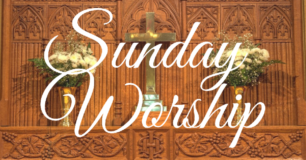 SUNDAY WORSHIP (Online Zoom)