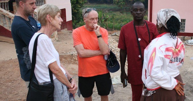 The Walkers Visit Sierra Leone  image