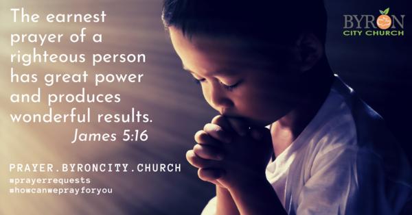 Prayer Needs