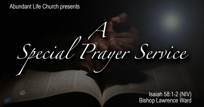 ALCOnline Special Prayer Service