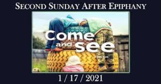 Sermon 2nd Sunday after Epiphany