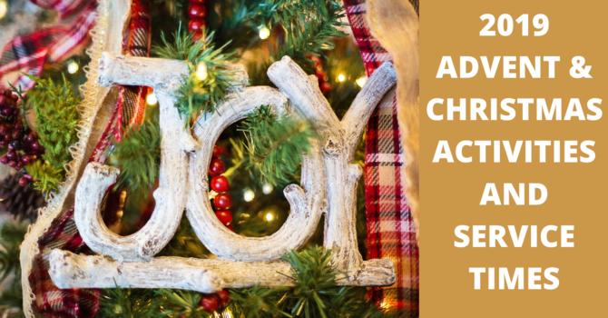 Advent & Christmas Poster image