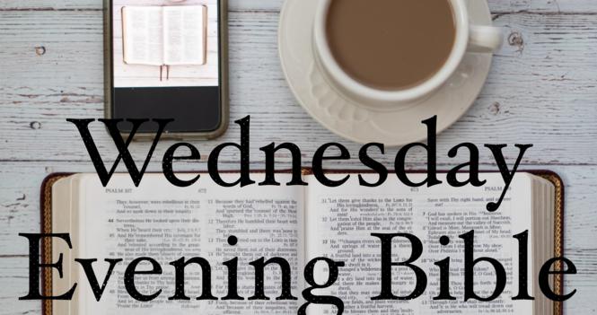 Wednesday Evening Zoom Bible & Prayer Meeting