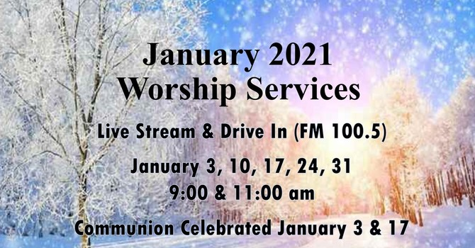 January 2021 Worship Services