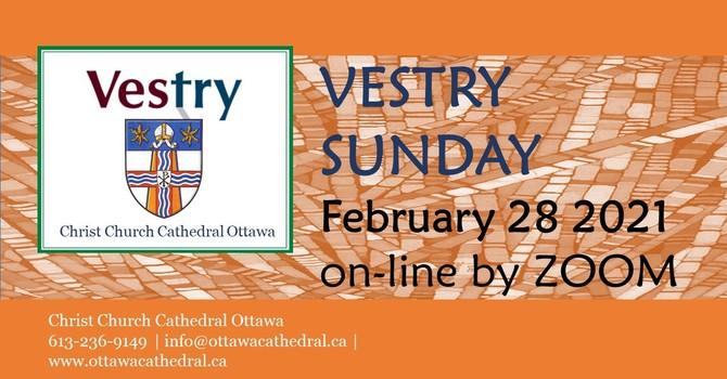 Vestry Sunday