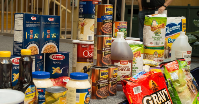 August Food Donations for Shelbourne Community Kitchen image