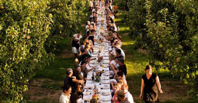100 KM  Dinner image