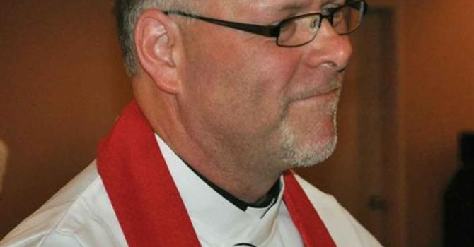 Father Allen Doerksen's Induction image