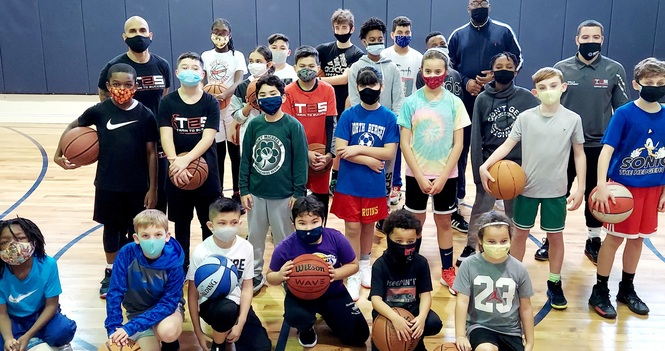 Youth Basketball Clinic with T2S