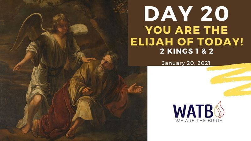 Day 20 Bible Study w/Dr. June Knight - 2 Kings 1 & 2