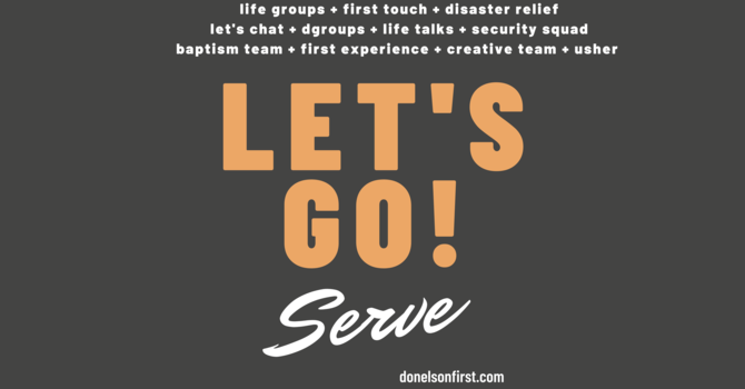 Let's Go! Serve Lunch