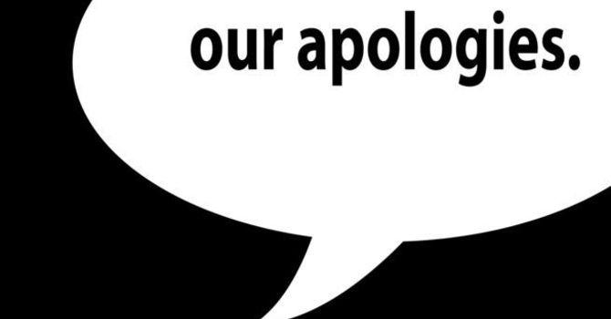 Please Pardon Our Error