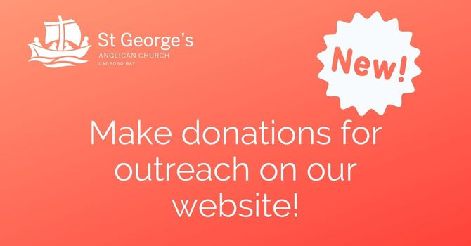 Online giving now available! image
