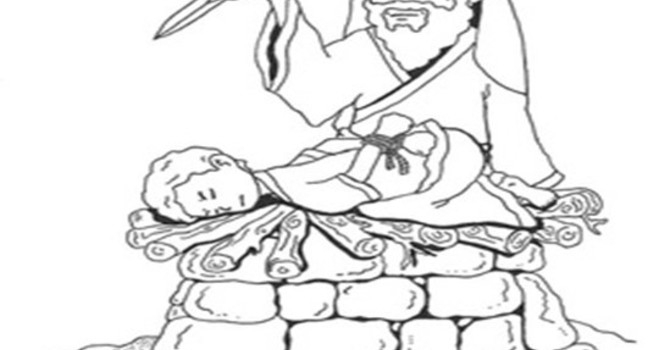 Abraham is Called to Sacrifice His Son, Isaac