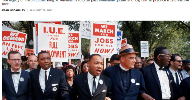 Thoughtful Thursday: It's Not Enough to Preach Racial Justice. We need to Champion Policy Change. image