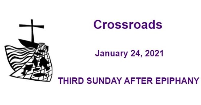 Crossroads January 24, 2021 image