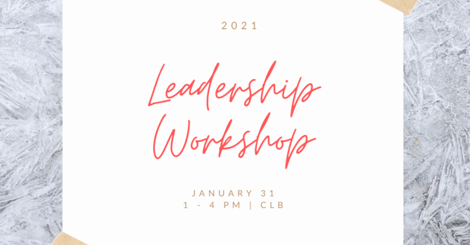 Leadership Workshop