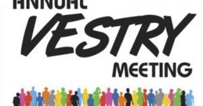 Annual Vestry Meeting image