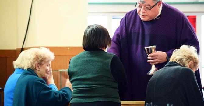 Ash Wednesday At St John's image