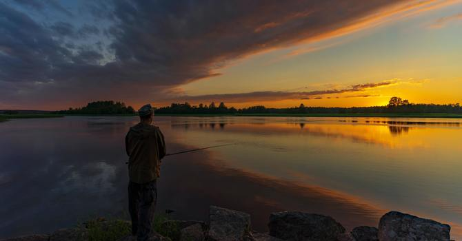 Discipleship - following and fishing