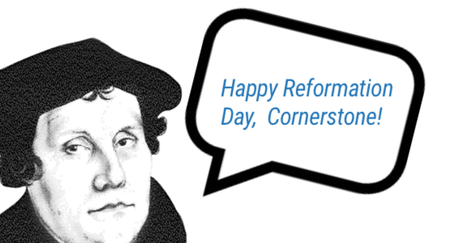 How Are You Celebrating Reformation Day? image