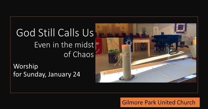 God Still Calls Us, Even in the Midst of Chaos image